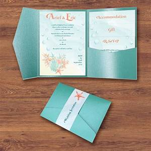 24 best wedding invitation designs images on pinterest With disney beach wedding invitations