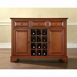 Lafayette cherry buffet server for Home furniture lafayette la locations