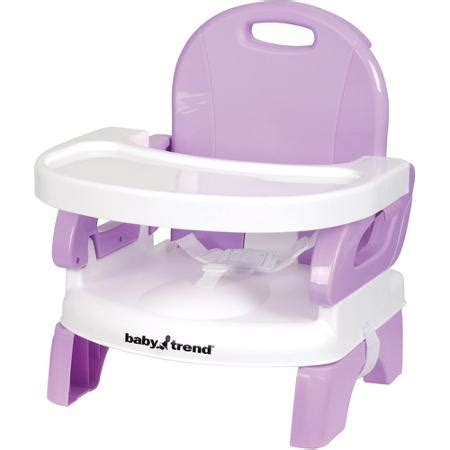 baby trend portable high chair booster seat lavender