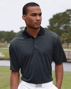 Adidas Golf Men 39 S Climalite Pencil Stripe Polo