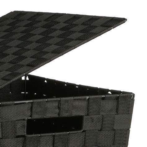panier a linge noir panier 224 linge 53cm noir