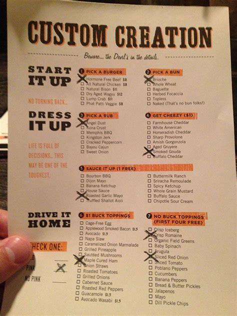 attention grabbing restaurant menu designs web