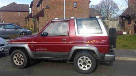 Daihatsu 1996 Sportrak Elx I Red Grey 4wd Off Road. Car
