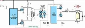 Circuit Diagram For 6v Cfl Adaptor