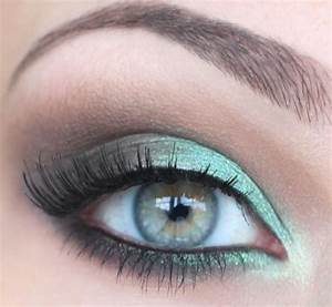 Maquillage Mariage Yeux Vert : maquillage de mariage weddbook pour les yeux verts ~ Nature-et-papiers.com Idées de Décoration