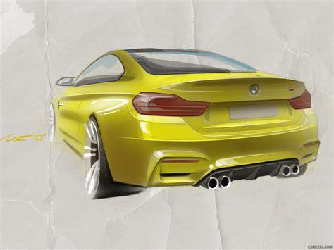 2018 Bmw M4 Coupe Concept Design Sketch Hd Wallpaper