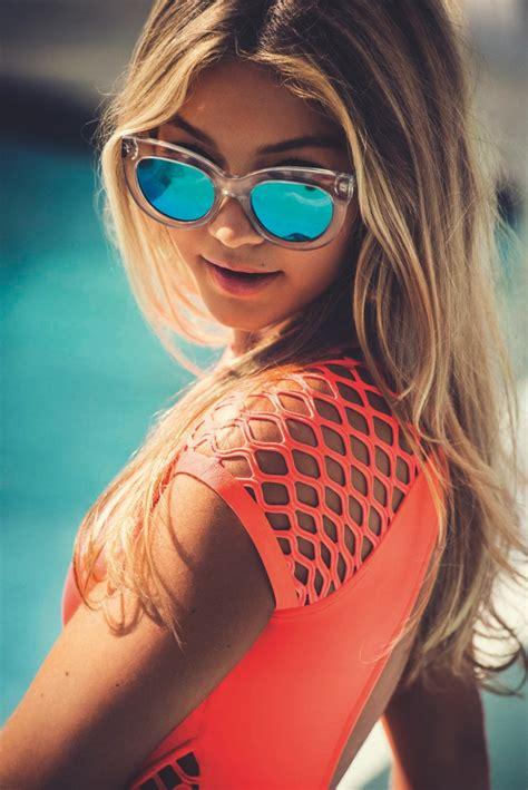Gigi Hadid Seafolly 2015 / 2016 Eyewear Campaign | Fashion ...