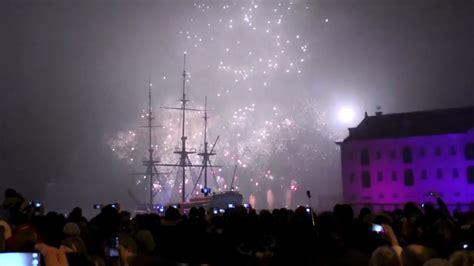 Scheepvaartmuseum Vuurwerk by Amsterdam 2017 New Year Eve Firework Nieuwjaar Vuurwerk