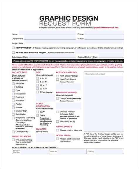Graphic Design Project Form ~ Graphic Section on graphic design invoice template, graphic design contract template, graphic design approval form template, graphic design work, graphic design lesson plan template, project request form template, graphic design request form template, graphic design brochure template, graphic design resume, graphic design company template, graphic design services list, cancellation form template, graphic design billing template, graphic design quote template, graphic design flyer template, design work order form template, graphic design portfolio template, vinyl design order form template, graphic design receipt template, graphic design estimate template,