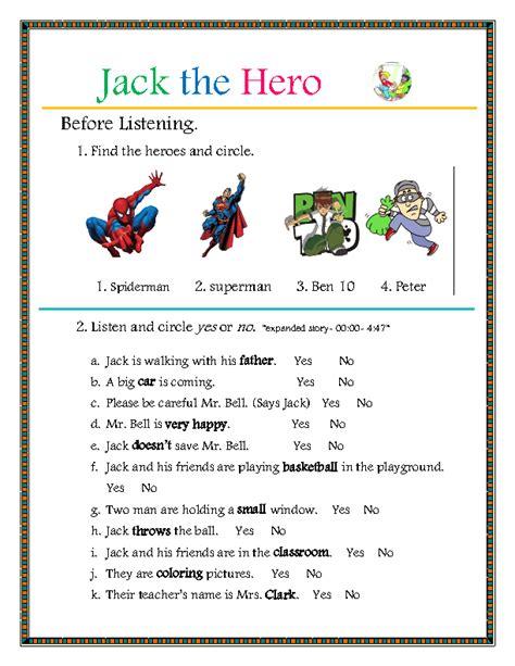 story book jack  hero