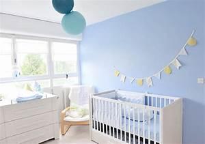 Deco Chambre Bebe Bleu : deco chambre bebe bleu ciel visuel 2 ~ Teatrodelosmanantiales.com Idées de Décoration