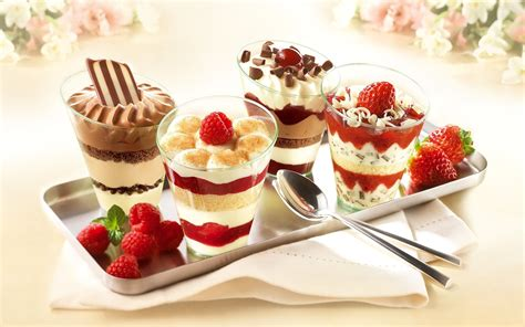 cuisine dessert food food wallpaper 33299546 fanpop