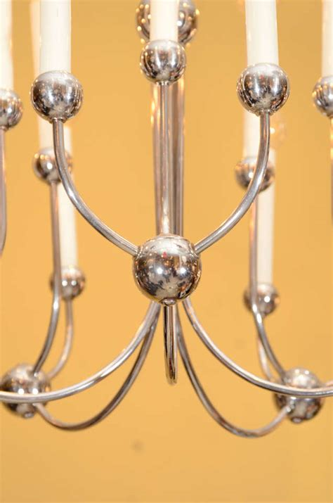 Lightolier Chandelier by Lightolier Candelabra Chandelier For Sale At 1stdibs