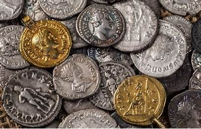 Roman Coins Ancient Empire Rome Currency Romans