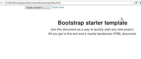 bootstrap 4 starter template bootstrap starter template navbar not working