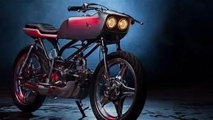 Digarap Lawless Jakarta Garage  Honda Win Disulap Jadi Cafe Racer Nan Futuristik