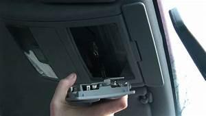Audi A6 4b Avant Leseleuchte Innenlichtschalter Ausbauen