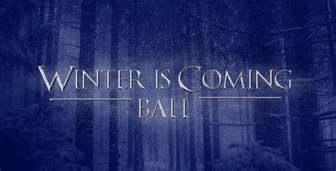 gaite lyrique winter  coming ball