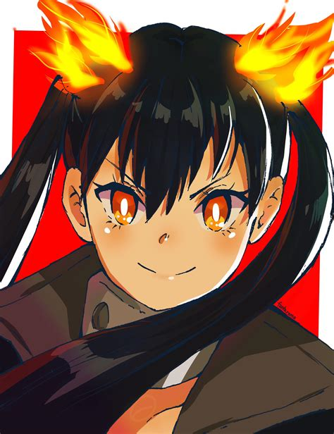Tamaki Fire Force Aesthetic Pfp Anime Wallpaper Hd