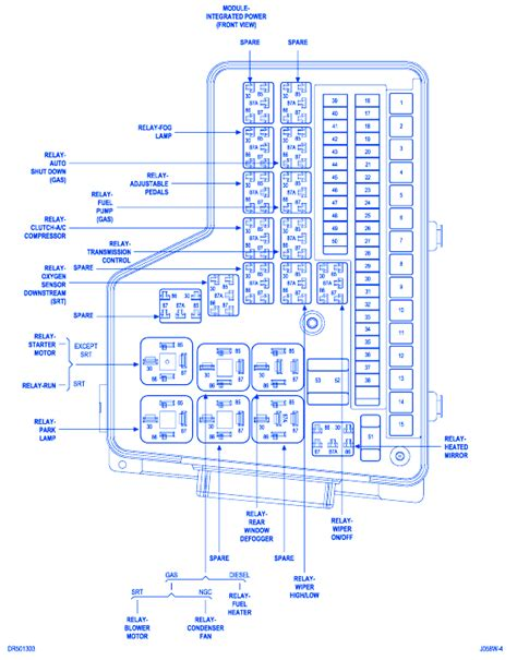 Dodge Cummins Fuse Box Block Circuit Breaker Diagram