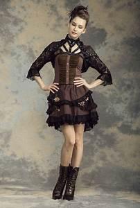 notre boutique en ligne de vetements et accessoires steampunk With vêtements steampunk femme