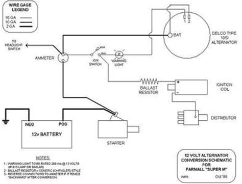 Farmall H Ignition Diagram by Solved I A Farmall H And Switch It To A12volt