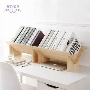 Solid, Wood, Assembly, Bookshelf, Table, Floor, Small, Bookcase, Student, Desktop, Storage, Shelves, Simple