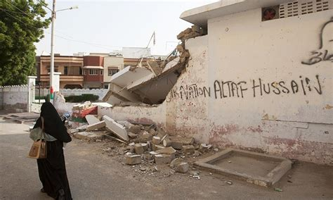 five more mqm offices bulldozed 196 sealed pakistan dawn com