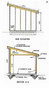 Detailed Shed Blueprints And Plans With Step By Step