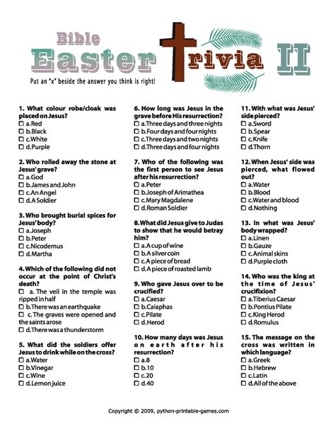 easter trivia easter trivia ii easter st patrick s day crafts ideas pinterest trivia easter and sunday