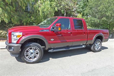ford   king ranch crew cab  test drive