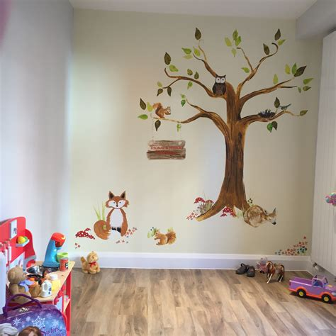 Nursery Wallpaper Ideas  Rachie B Bespoke Wallpaper