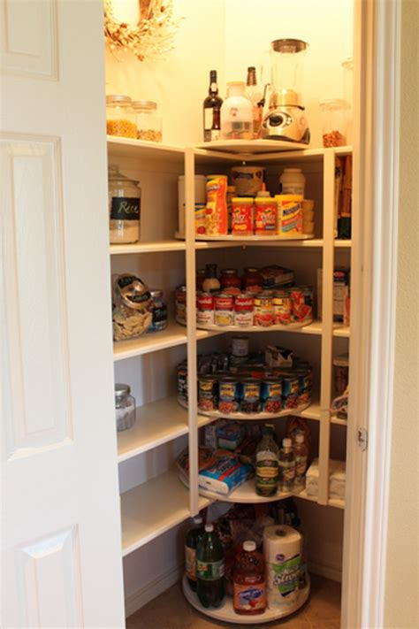Kitchen Closet by How To Make A Lazy Susan Pantry Storage The Owner
