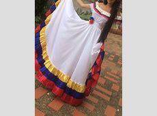 Traje Típico Llanero Miss Venezuela Campesina Bs 20,00