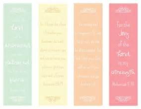 Free Printable Bible Verse Bookmarks
