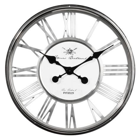 horloge maison du monde horloge regent chrome maisons du monde
