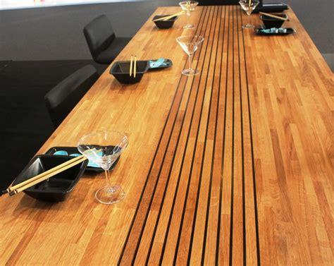 hotte de cuisine de dietrich plan de travail en bois lamellé collé