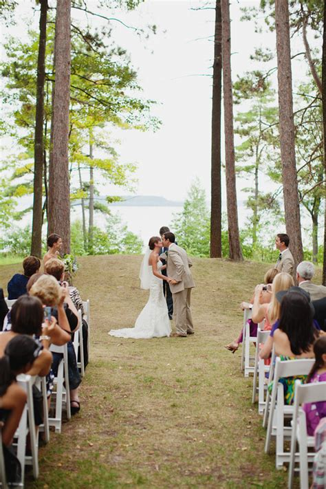 real wedding  summer michigan wedding glamour grace