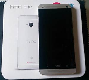 [SOLD] Unlocked HTC One M7 32gb Glacial Silver phone At&t ...