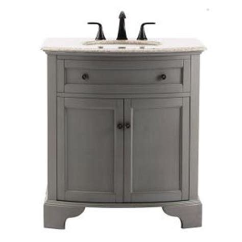 home decorators collection hamilton 31 in vanity in grey