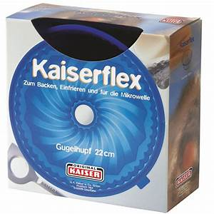 Kaiser Backform Rezepte : kaiser backform silikon kaiserflex gugelhupf 22 cm 681016 ~ Yasmunasinghe.com Haus und Dekorationen