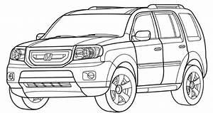 honda pilot coloring page teacher stuff With honda ridgeline car