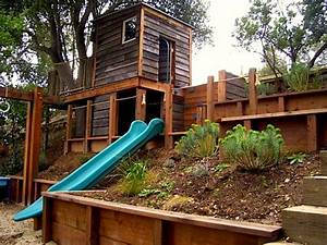 Awesome Two-Story Playhouses KidSpace Stuff Series