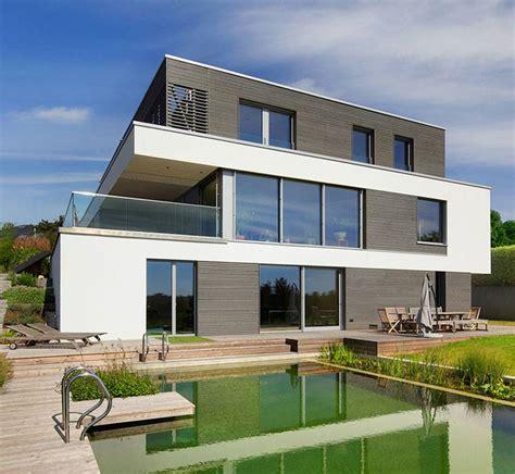 Moderne Puristische Häuser by Bauhaus Architecture Style Houses Baufritz Uk
