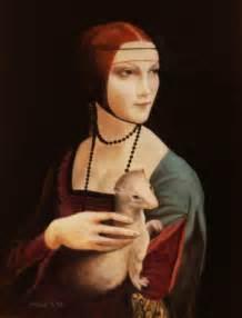 la dama con l ermellino leonardo da vinci maurizio amorosi artwork celeste network