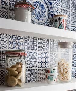 Spanish Wall Decor top 15 patchwork tile backsplash designs for kitchen