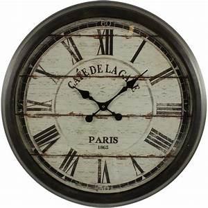 Horloge De Gare : catgorie horloges pendule et comtoise du guide et comparateur d 39 achat ~ Teatrodelosmanantiales.com Idées de Décoration