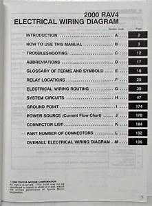 2000 Toyota Rav4 Electrical Wiring Diagram Manual