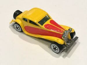More listings are added daily. Hot Wheels 1980 37 Bugatti Yellow Red RARE Mattel   eBay