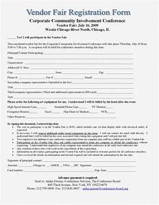 Vendor Registration Form Template